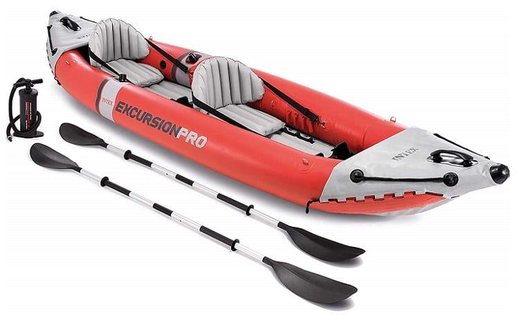 Intex Excursion Pro Kayak, Professional Series Inflatable Fishing Kayak Review