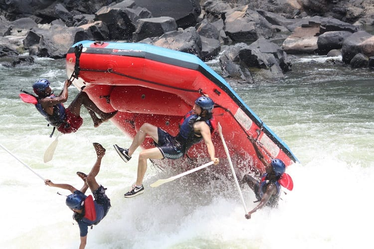 What Happens If You Fall Out While Whitewater Rafting?