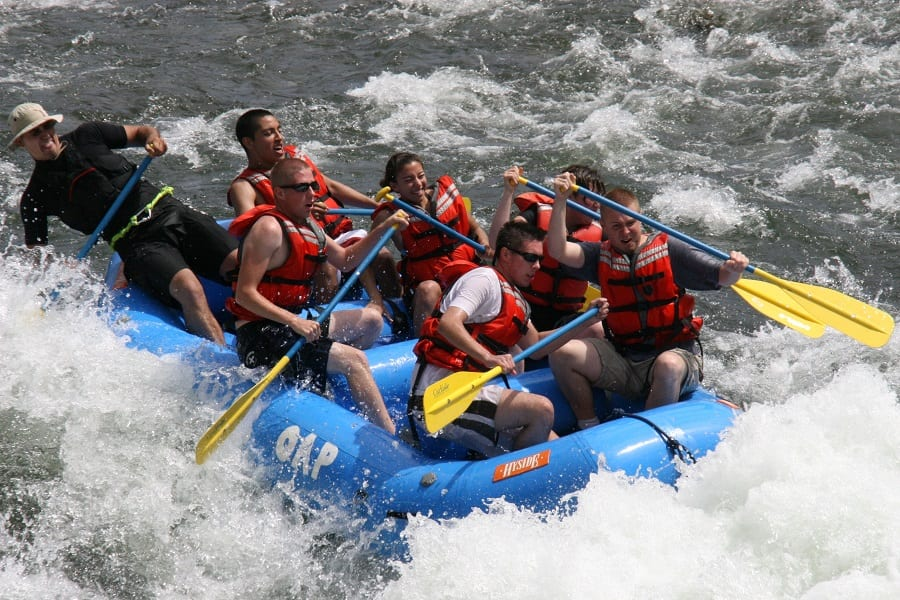 How To Become A River Rafting Guide