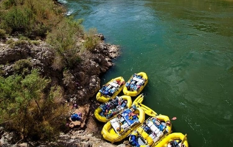 How Many People Raft The Grand Canyon