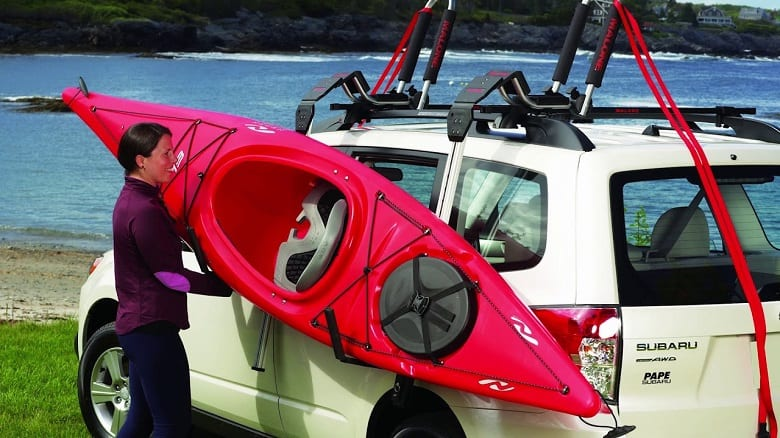 CAN I CARRY A KAYAK ON MY CAR?
