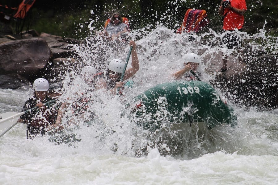 rafting for non-swimmers