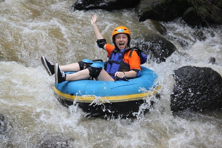 Tubing Vs. Rafting